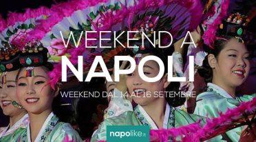 Eventi a Napoli nel weekend dal 14 al 16 settembre 2018