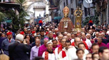 Festival San Gennaro à Naples
