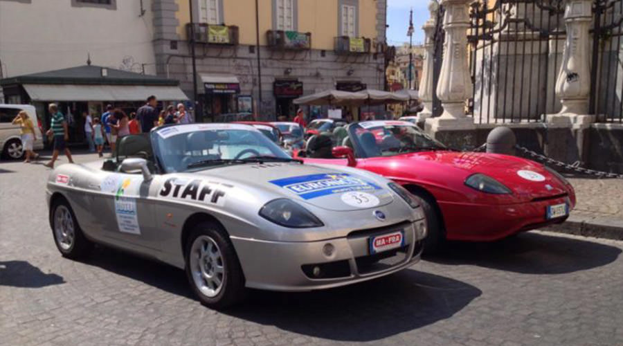 Fiat Barchetta Rally In Naples Program Of The Fashion Show - Naples car show 2018