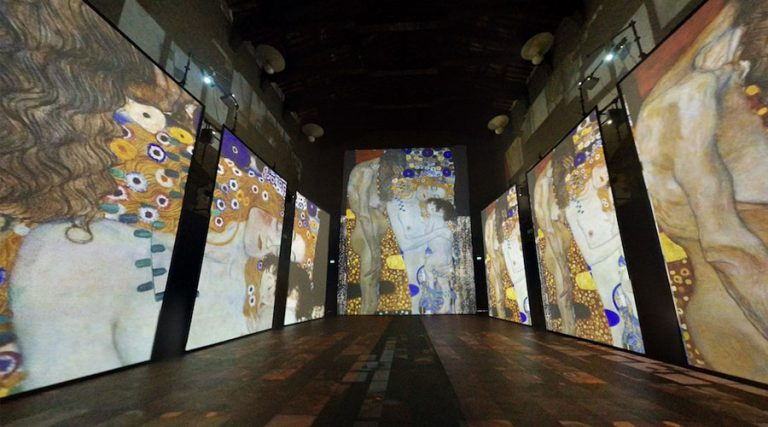 Experiencia Klimt en Nápoles