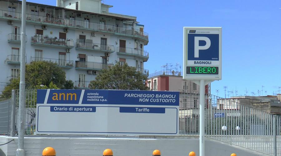 ナポリ・バニョーリの駐車場