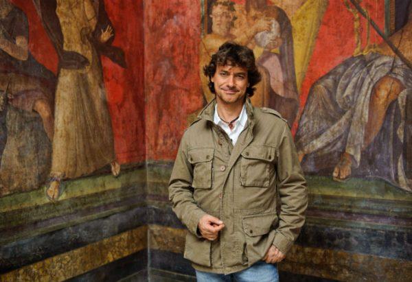Alberto Angela en Pompeya