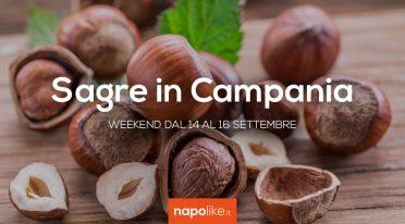 Sagre in Campania nel weekend dal 14 al 16 settembre 2018