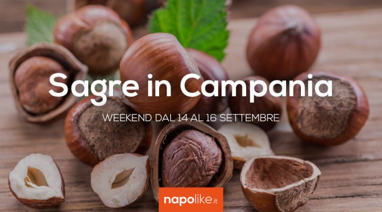 Festivals en Campanie le week-end de 14 à 16 September 2018
