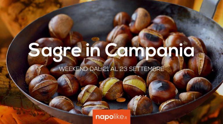 Sagre in Campania nell weekend dal 21 al 23 settembre 2018