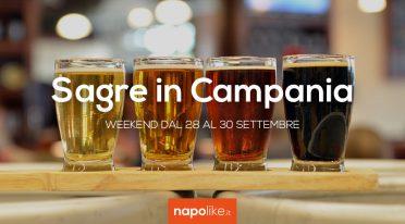 Sagre in Campania nel weekend dal 28 al 30 settembre 2018