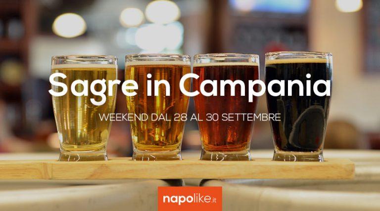 Festivales en Campania en el fin de semana de 28 a 30 Septiembre 2018