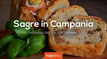 Sagre in Campania nel weekend dal 7 al 9 settembre 2018