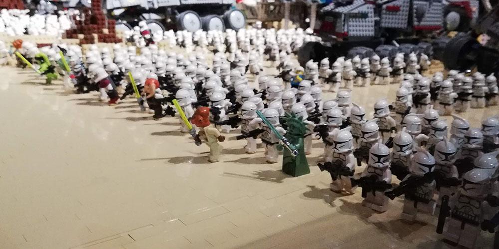 Mostra Brikmania Napoli, stormtrooper