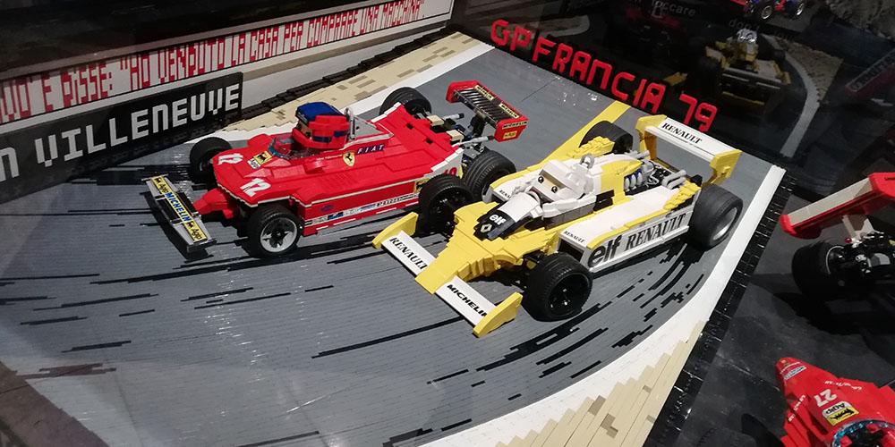 Mostrar Brikmania Nápoles, Fórmula 1