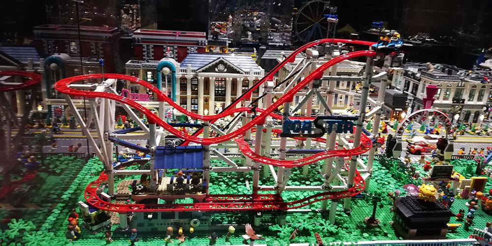 Mostra Brikmania Napoli, rollercoaster