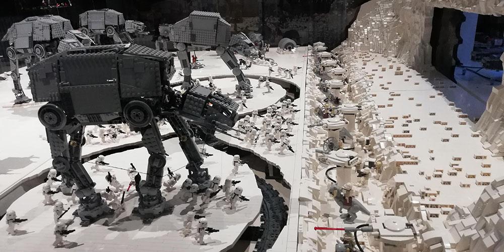 Espectáculo Brikmania Nápoles, Lego Star Wars