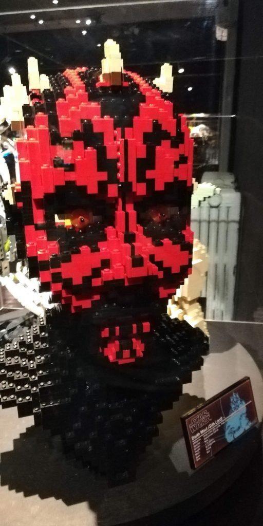 Mostrar Brikmania Nápoles, Sith Star Wars