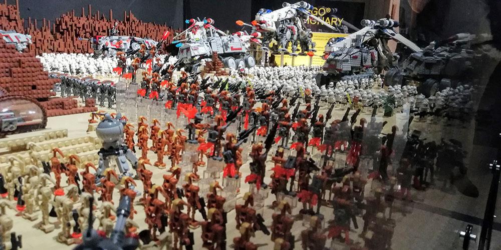 Espectáculo Brikmania Nápoles, Star Wars