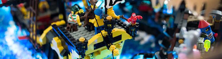 Brikmania, piratas creados con lego.