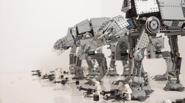 Brikmania, la exposición de Lego con modelos de Star Wars.