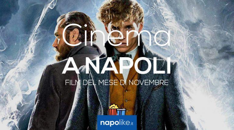 Película en los cines de Nápoles en noviembre 2018