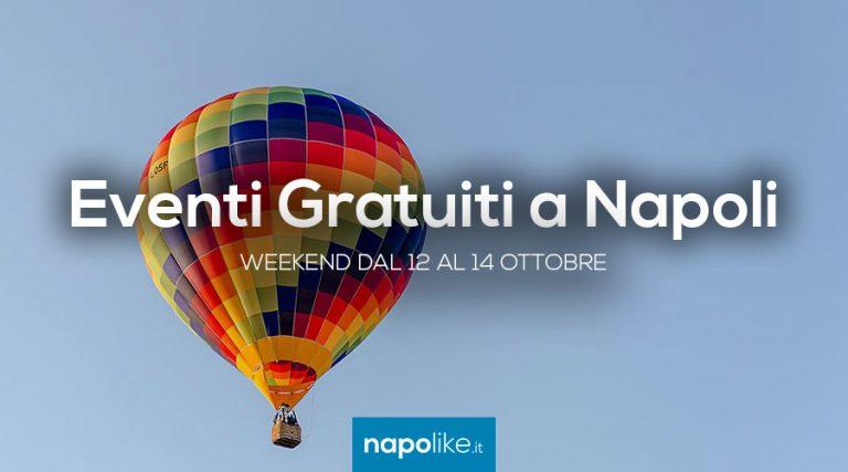 Eventi gratuiti a Napoli nel weekend dal 12 al 14 ottobre 2018