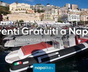 Eventi gratuiti a Napoli nel weekend dal 19 al 21 ottobre 2018