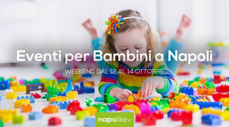 Eventos para niños en Nápoles durante el fin de semana desde 12 hasta 14 October 2018