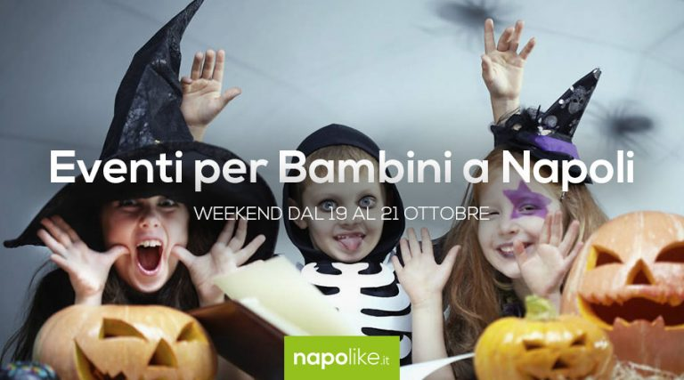 Events for children in Naples during the weekend from 19 to 21 October 2018