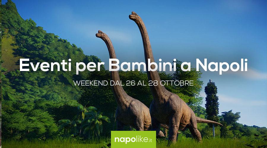 Eventi per bambini a Napoli nel weekend dal 26 al 28 ottobre 2018