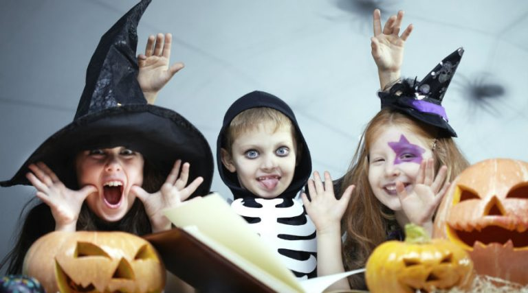 Halloween children