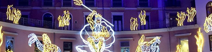 Luci d'Artista in Salerno