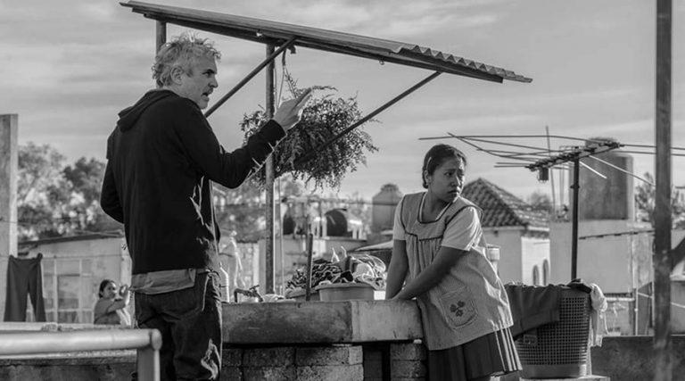 Scena del film Roma di Alfonso Cuaron