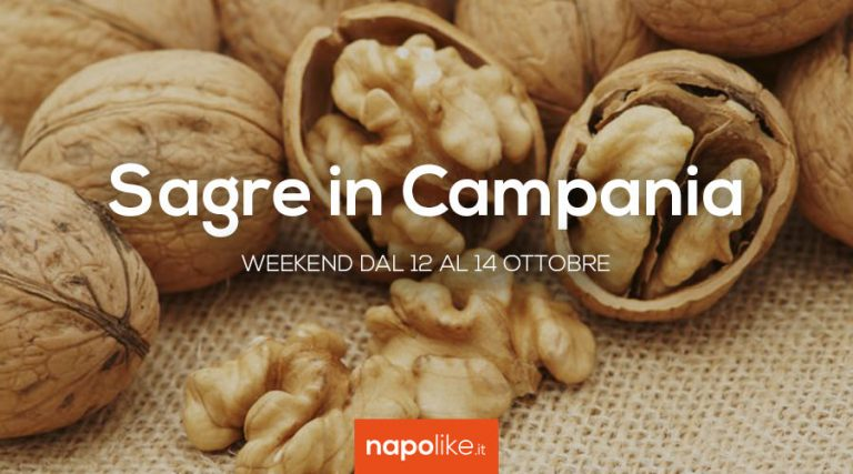 Festivals en Campanie le week-end de 12 à 14 October 2018