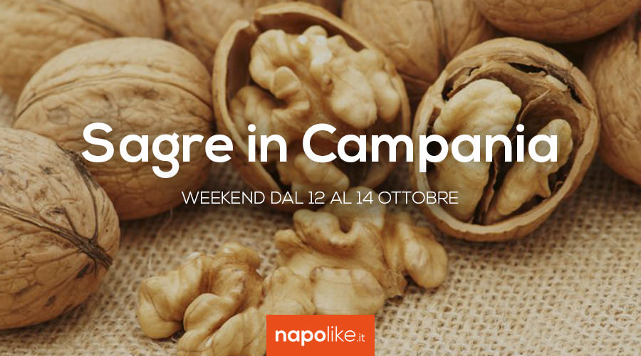 Festivals in Campania in the weekend from 12 to 14 October 2018