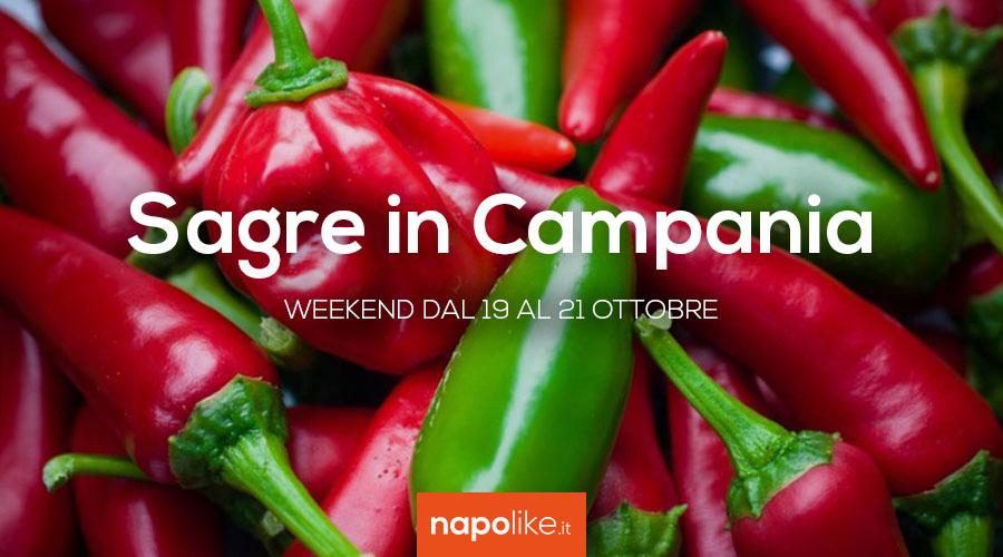 Sagre in Campania nel weekend dal 19 al 21 ottobre 2018