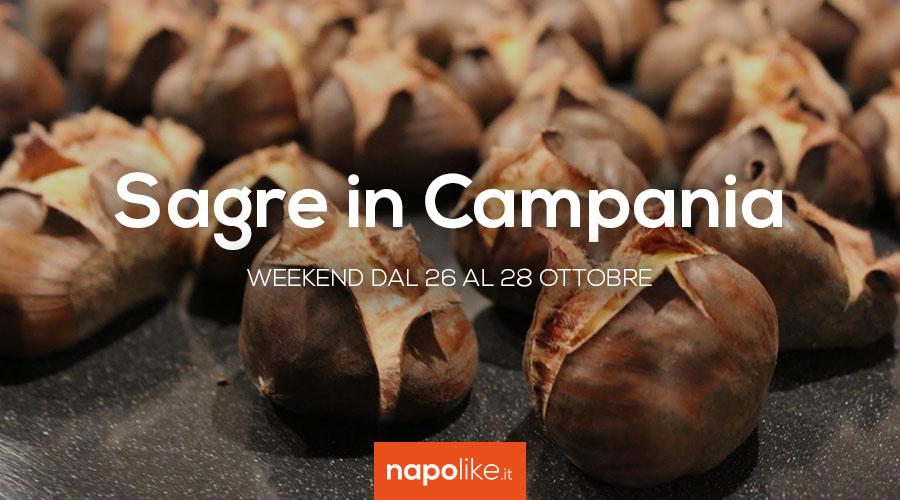 Sagre in Campania nel weekend dal 26 al 28 ottobre 2018