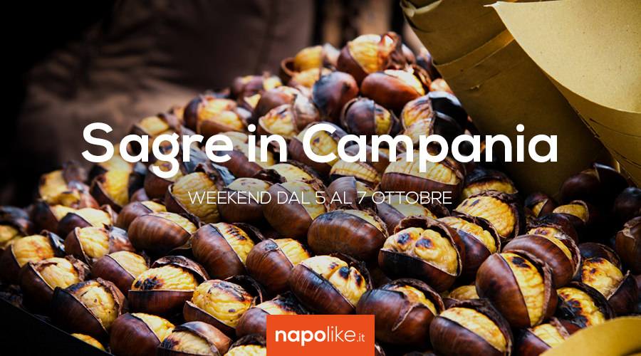Sagre in Campania nel weekend dal 5 al 7 ottobre 2018