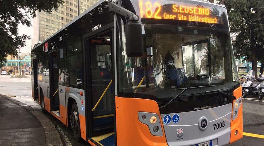 Bus nuovo a Napoli