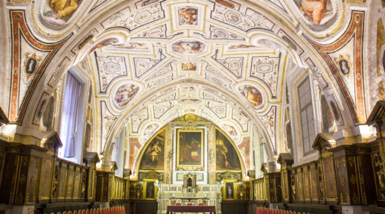 Sant'Anna dei Lombardi complex Naples