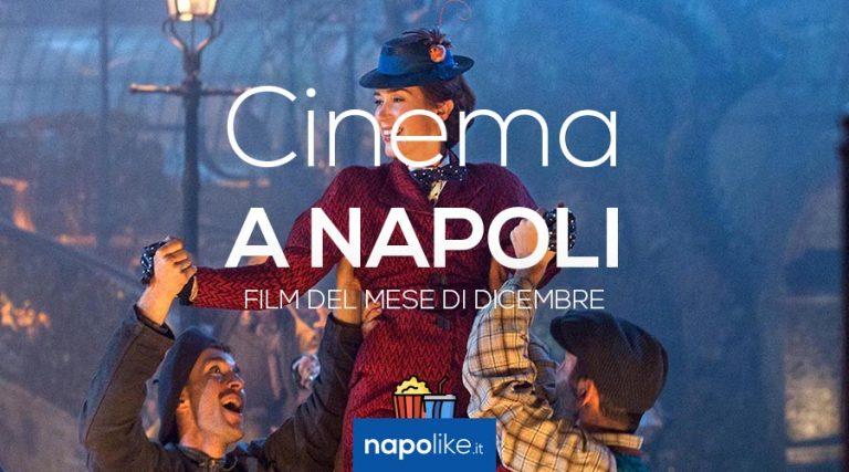 Film im Kino in Neapel im November 2018