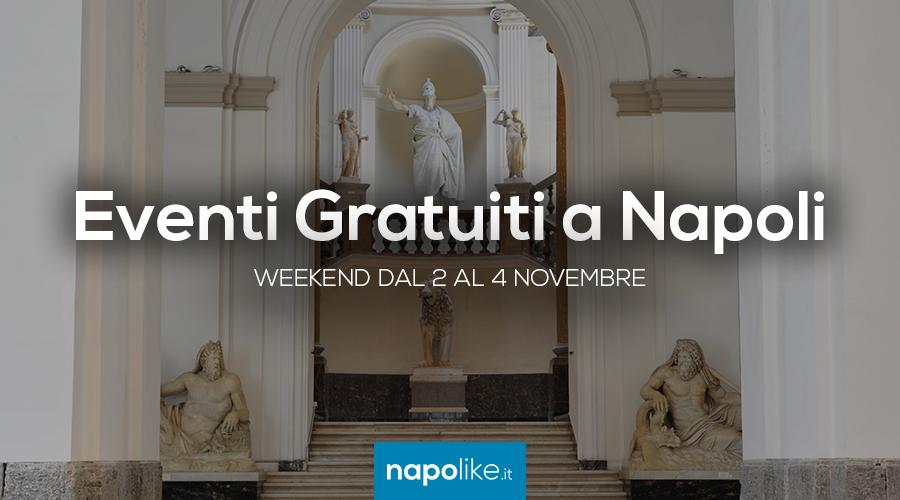 Eventi gratuiti a Napoli nel weekend dal 2 al 4 novembre 2018