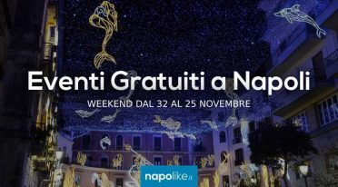 Événements gratuits à Naples pendant le week-end de 23 à 25 November 2018