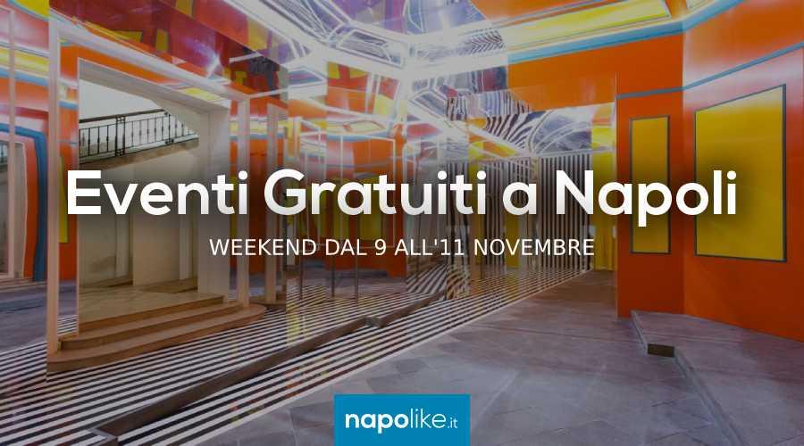 Eventi gratuiti a Napoli nel weekend dal 9 all'11 novembre 2018