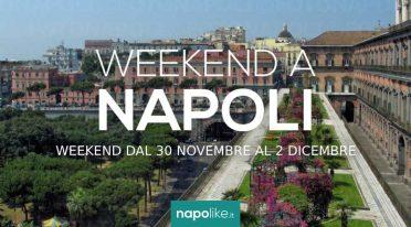 Eventi a Napoli nel weekend dal 30 novembre al 2 dicembre 2018