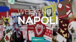 Eventi a Napoli nel weekend dal 9 all'11 novembre 2018