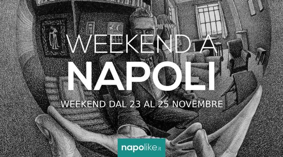 Eventi a Napoli nel weekend dal 23 al 25 novembre 2018