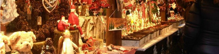 那不勒斯的圣诞市场