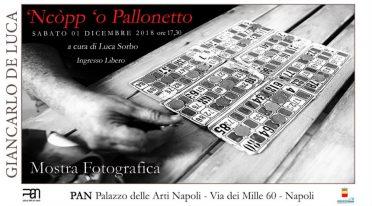 Mostra 'Ncopp 'o Pallonetto a Napoli, locandina