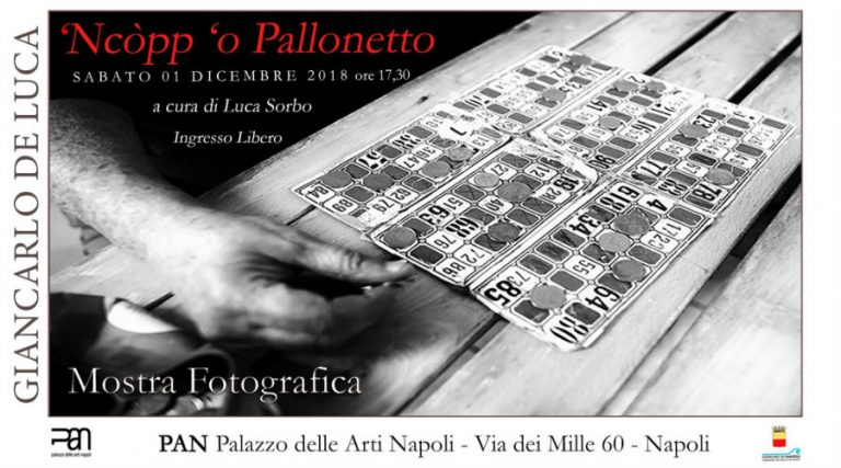 Show 'Ncopp' or Pallonetto in Naples, poster