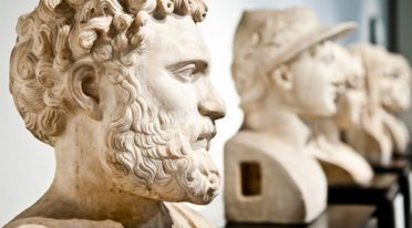Busts at the Archaeological Museum of Naples