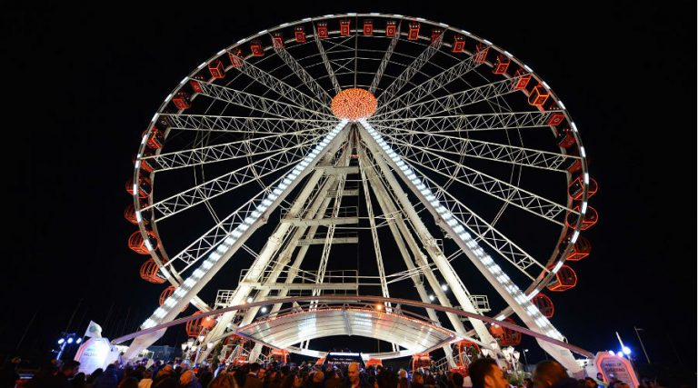 Ferris wheel Salerno