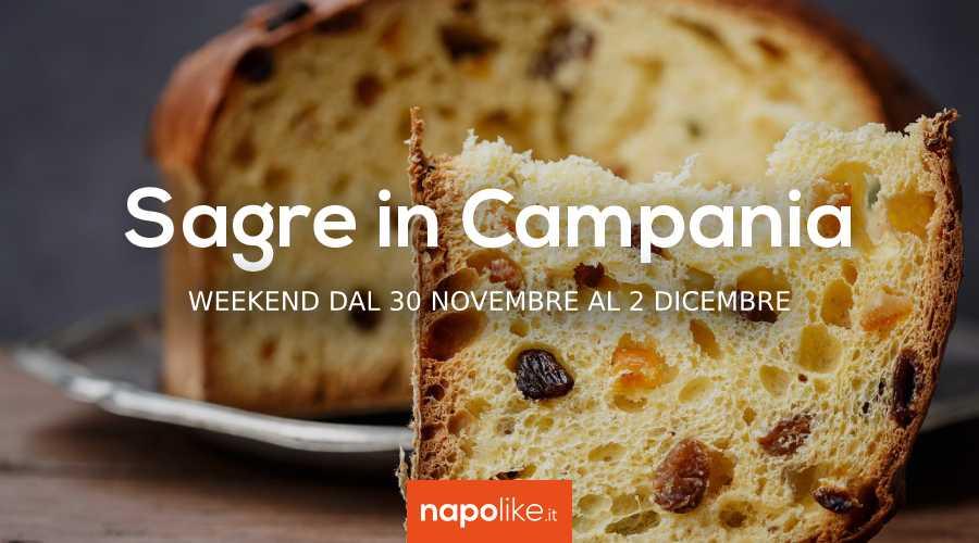 Sagre in Campania nel weekend dal 30 novembre al 2 dicembre 2018