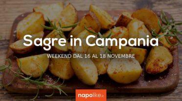 Sagre in Campania nel weekend dal 16 al 18 novembre 2018